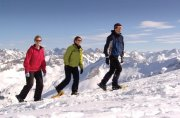 Schneeschuhtouren im Tiefschnee oder auf den Bergen