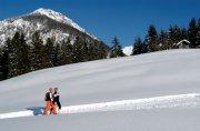 Winterwanderung auf 140km Wanderwege